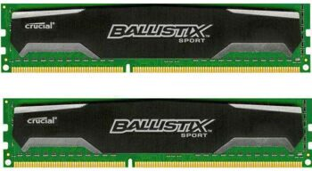 Память DDR3 2x4Gb 1600MHz Crucial BLS2C4G3D169DS1J RTL PC3-12800 CL9 DIMM 240-pin 1.5В